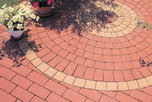 Clay bricks pavers